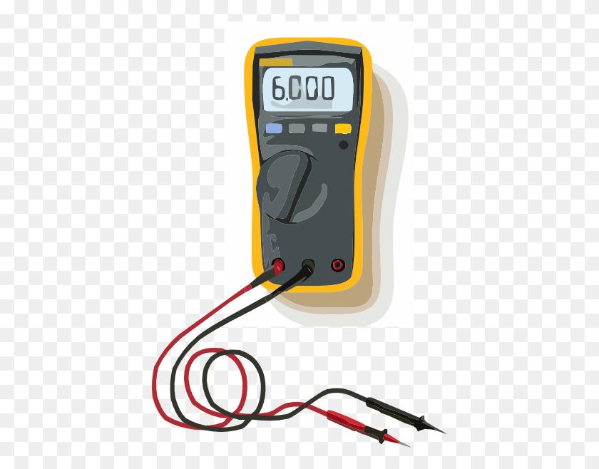 Multimeter W Lead Clip Art - Lead Clipart