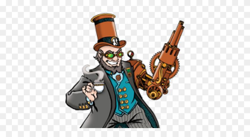 Munchkin Steampunk Deluxe - Steampunk Gears PNG