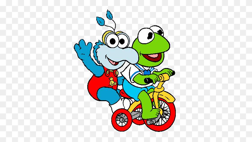 Muppet Babies Cartoon Characters Clipart - Princess Belle Clipart