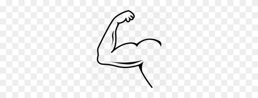 260x260 Muscle Arm Clip Art Clipart - Arm Wrestling Clipart