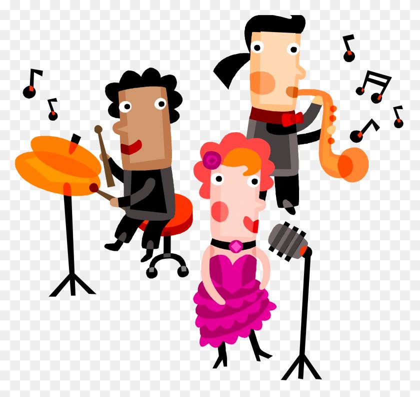 Music Singers Clip Art - Lps Clipart