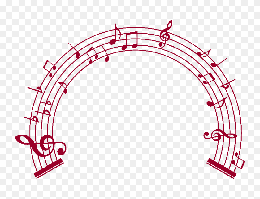 Musical Graphics Group With Items - Flying Dragon Clipart