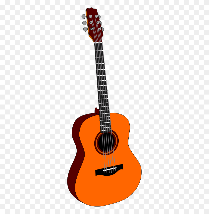 299x800 Musical Instrument Free Stock Clipart - Lute Clipart