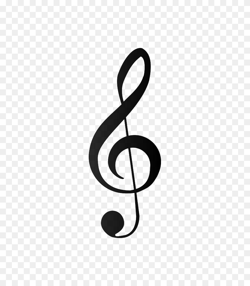 Musical Symbol Bold - Bass Clipart Black And White