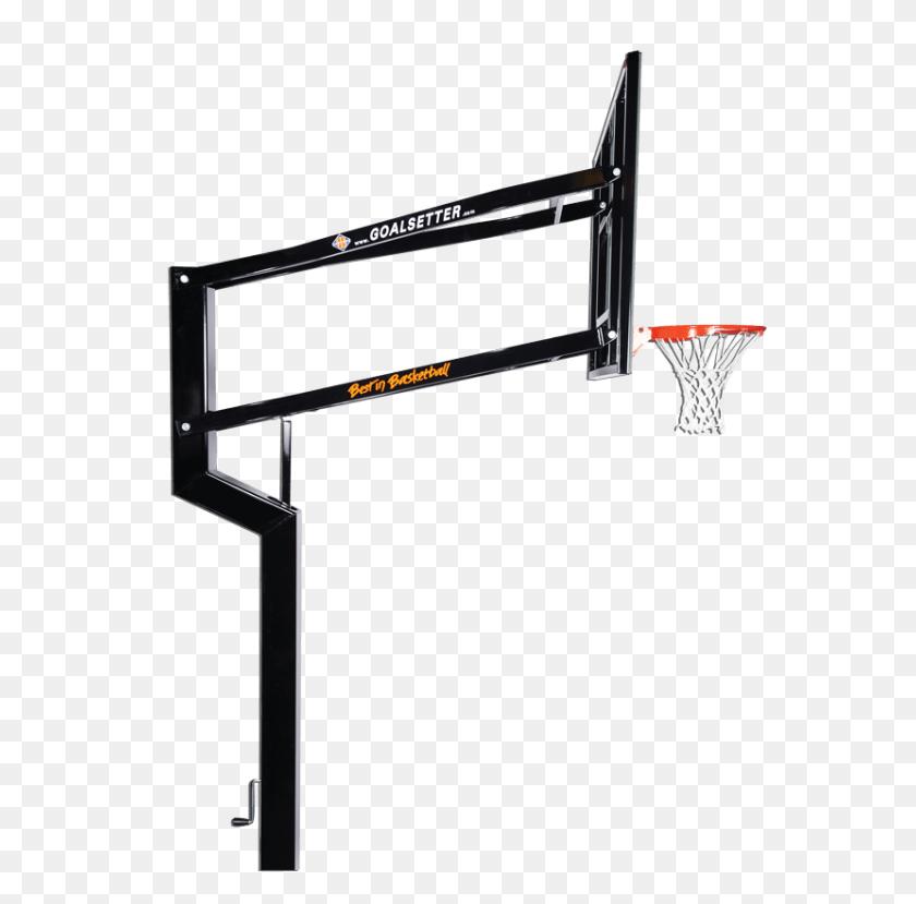 Mvp Goalsetter Basketball Hoop Outdoor Basketball Hoops San Antonio - Basketball Hoop PNG