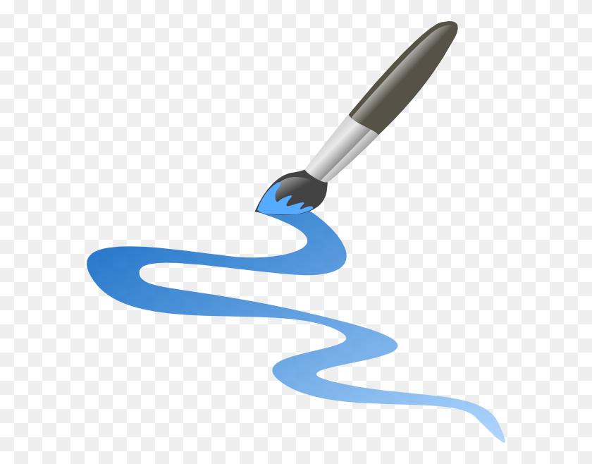 My Blue Path Clip Art - Path Clipart