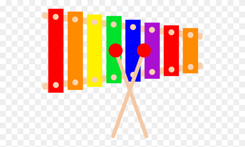 550x444 My Free Clip Art Of A Colorful Xylophone Musical Instrument - Piano Keyboard Clipart