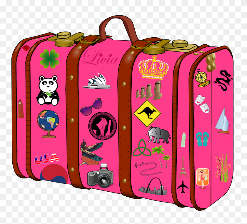 My Suitcase Suitcase Suitcase, Clip Art And Art - Passport Clipart