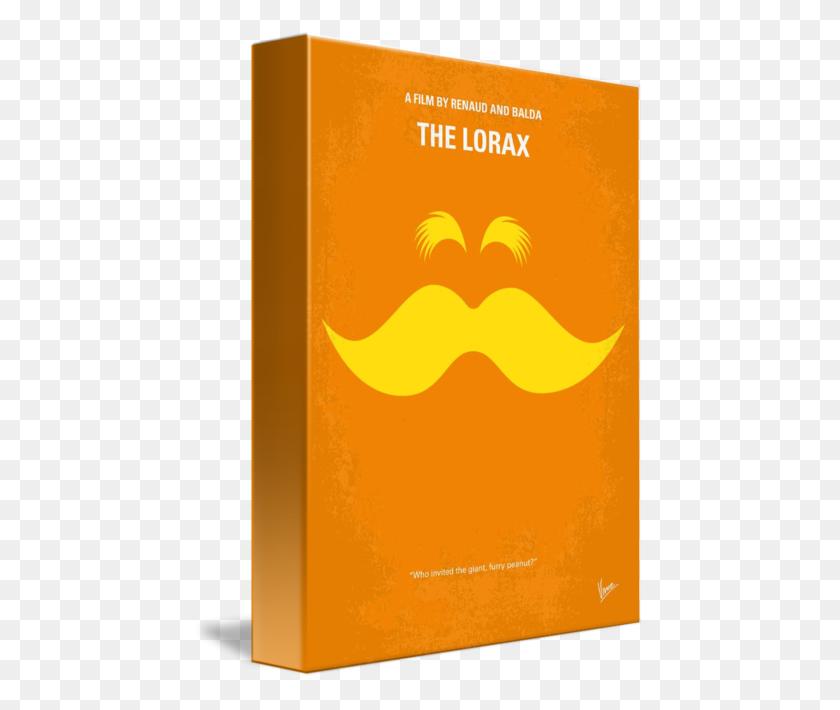 450x650 My The Lorax Minimal Movie Poster - Lorax PNG
