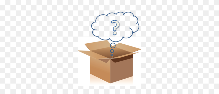 242x300 Mystery Box Devoted Grandmas Toys - Mystery Box PNG