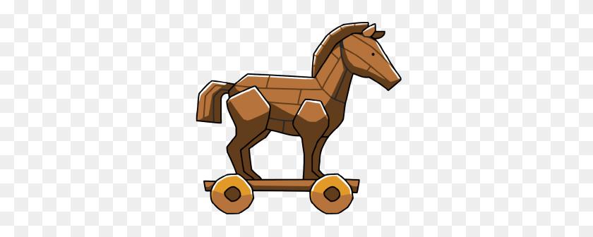 300x276 Mythical Clipart Trojan Horse - Artemis Clipart