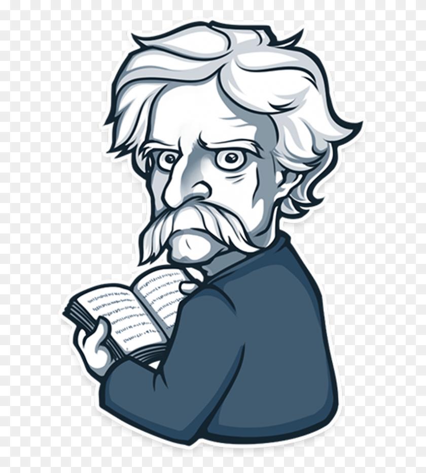 Naklejki - Mark Twain Clipart