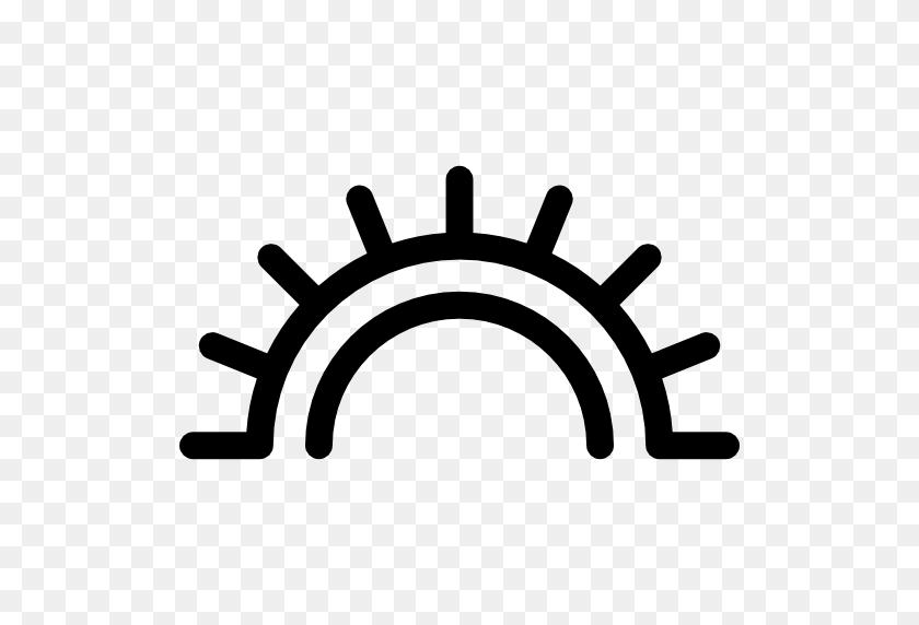 Native American Sun Rays - Sunrays PNG