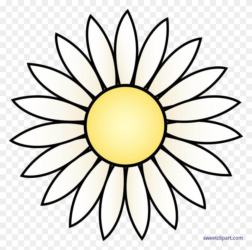 Nature Flowers Daisy Clip Art - Nature Clipart