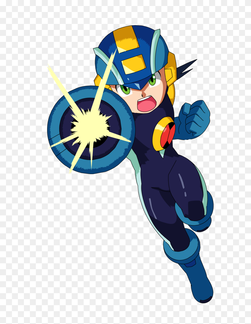 753x1023 Navis - Megaman PNG