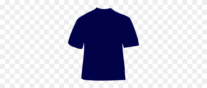 288x298 Navy Blue T Shirt Clip Art - T Shirt Clipart Images