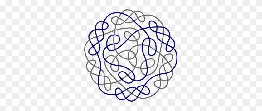 Navy Gray Celtic Knot Clip Art Celtic Knots Celtic - Celtic Heart Clipart