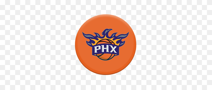 Nba Phoenix Suns Popsockets Grip - Suns Logo PNG