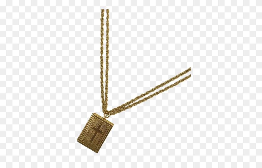 Necklaces Marrin Costello - Gold Cross PNG