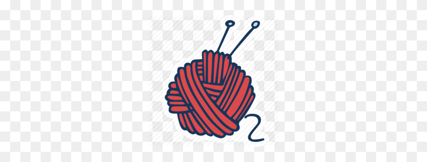 Needle Clipart - Yarn Clipart