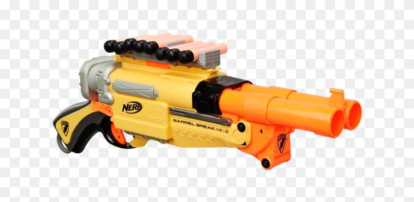 Nerf Barrel Break Nerf N Strike Barrel Break Malachi's Room - Nerf Gun PNG