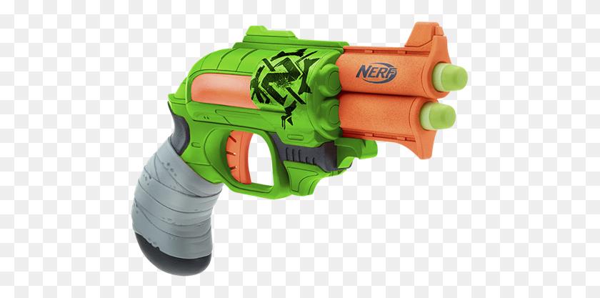 Nerf Zombie Strike Double Strike Blaster Nerf Gun! - Nerf Gun Clips