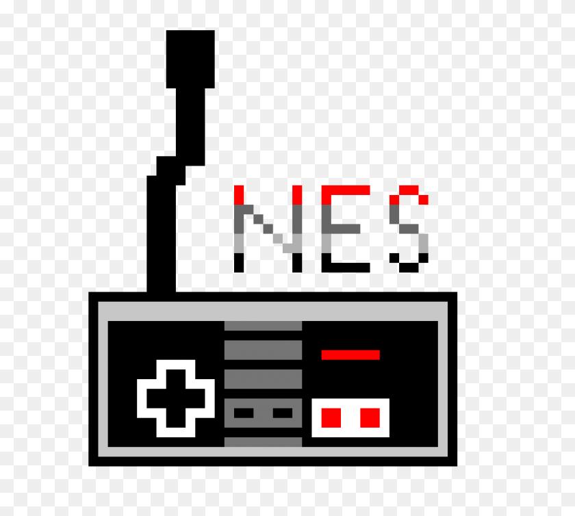 Nes Classic Controller Pixel Art Maker - Nes PNG