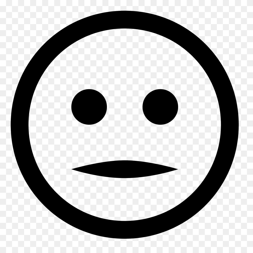1600x1600 Neutral Icon - Meh Emoji PNG