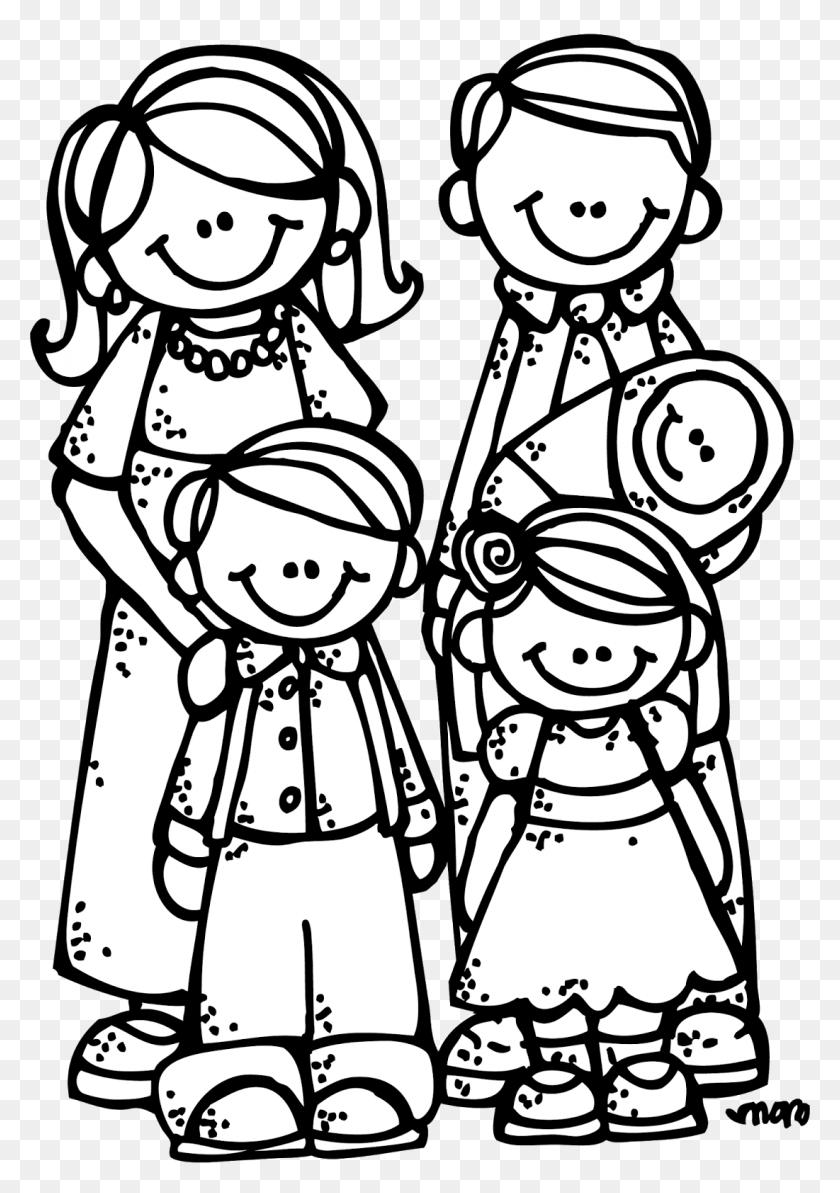 New Family Clipart - Family Heart Clipart