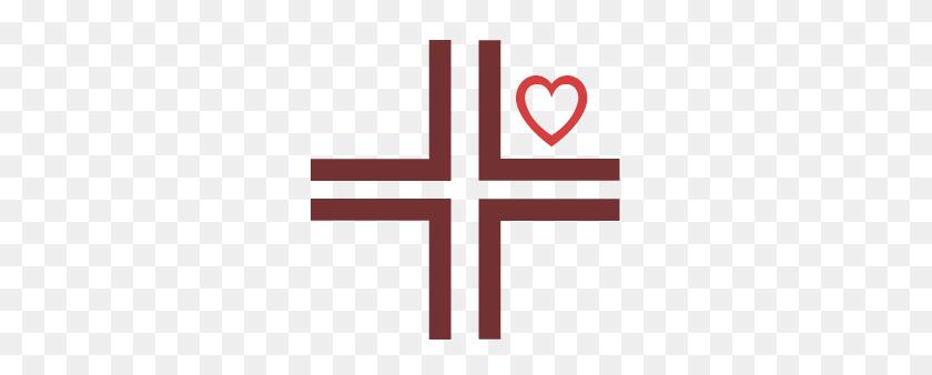 296x278 New Logo For Sacred Heart Parish - Sacred Heart Of Jesus Clip Art