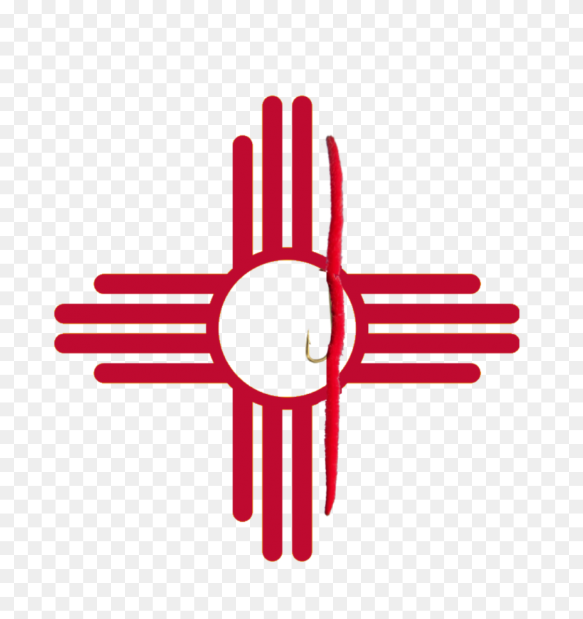 New Mexico San Juan Flag Tee Trout Scout Outfitters - New Mexico Clip Art