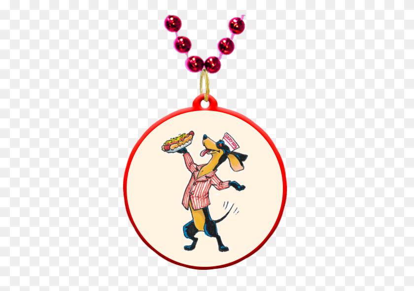 New Orleans Lucky Dogs Theme Custom Mardi Gras Beads - Mardi Gras Beads Clip Art
