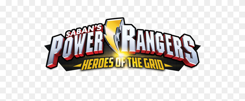 New Power Rangers Heroes Of The Grid Board Game - Power Rangers Logo PNG