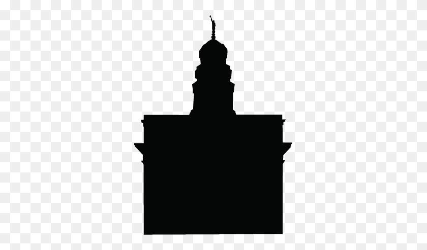 New Salt Lake Temple Silhouette Clip Art Lds Temple Silhouette - Lds Temple Clipart Black And White