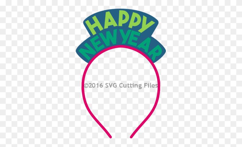 New Year Clipart Headband - Happy New Year Clipart