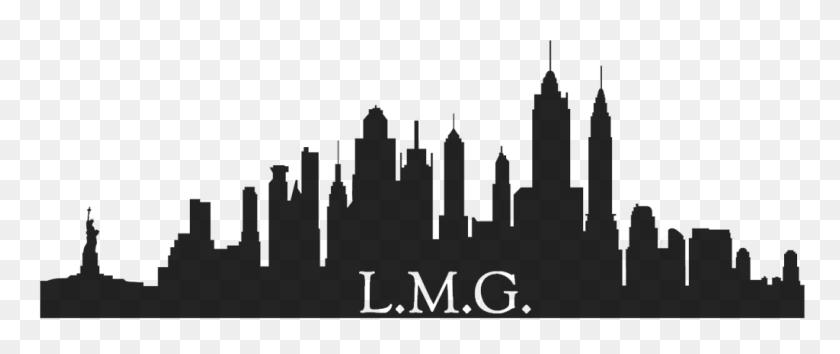 New York City Skyline Silhouette Loadtve - City Skyline Silhouette PNG