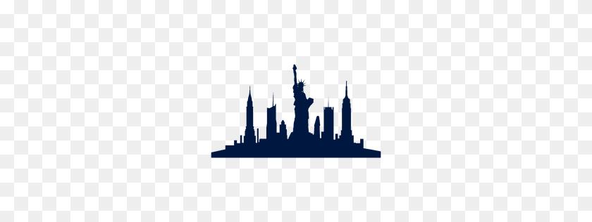 New York Skyline Silhouette - New York Skyline Clipart