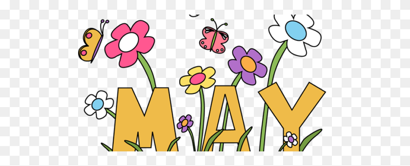 News Updates Gem City Gymnastics Tumbling, Llc - May Flowers Clip Art