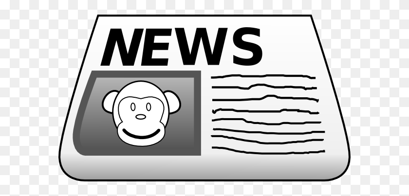 Vector Art - Folded newspaper with the header todays news. Clipart Drawing  gg70933158 - GoGraph