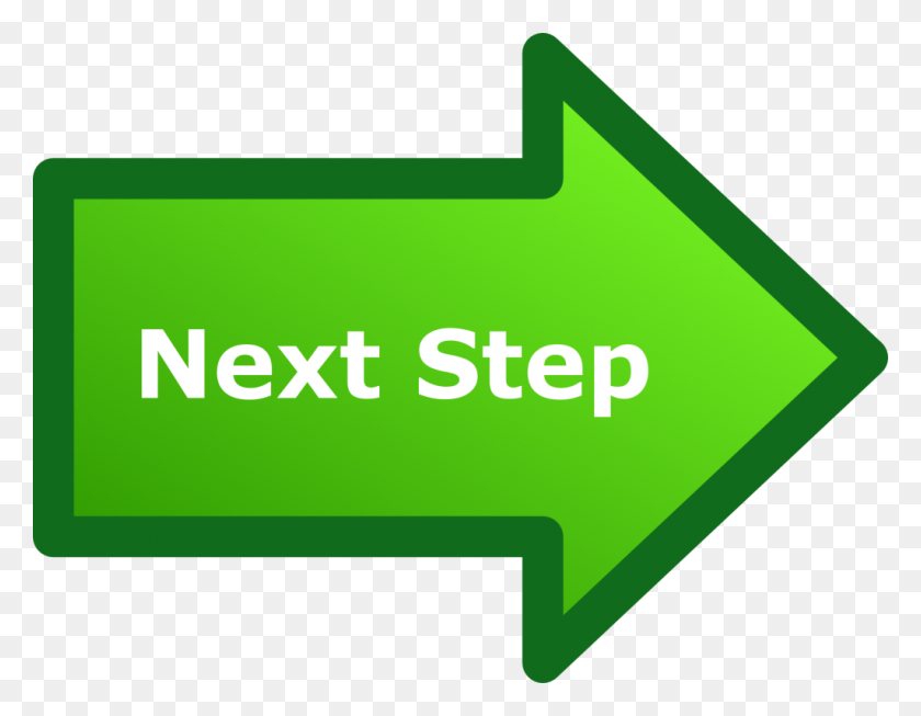 Next Step Arrow - Next Steps Clipart