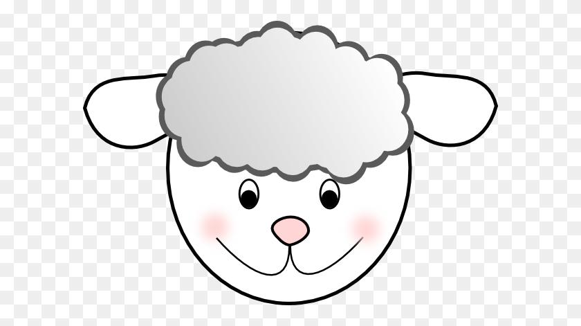 Nice Sheep Clip Art - Sheep Clipart Black And White