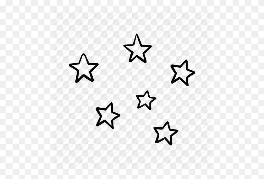 Night, Pattern, Sleep, Star, Stars, Weather Icon - Silver Stars PNG