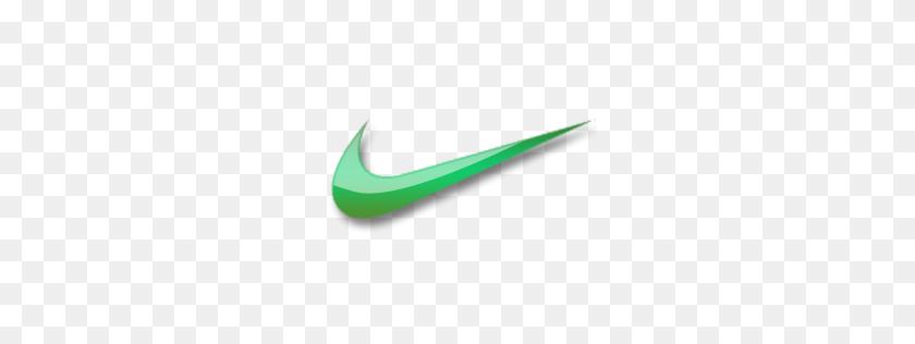 Nike Nike Green, Green And Nike - Nike Swoosh PNG