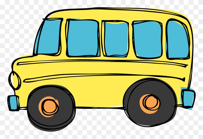 No Busses Clipart - No School Clipart