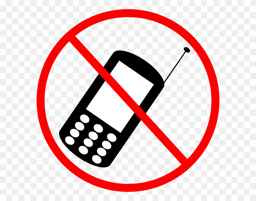 No Cellphone Clip Art - Cell Phone Clipart PNG