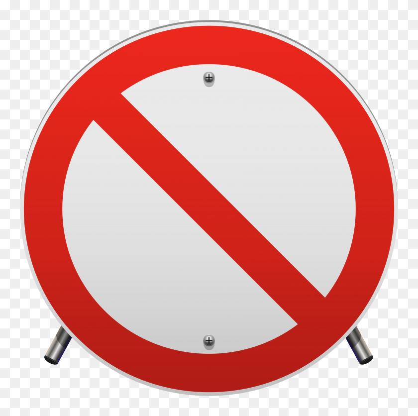 No Parking Sign Png Clip Art - Road Clipart Transparent
