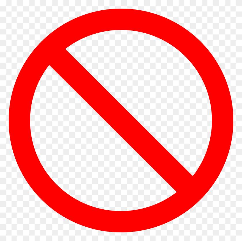 No Sign - Circulo Rojo PNG
