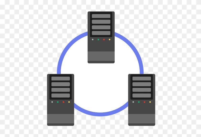 Node Other Application Server Cluster, Cluster, Device Icon - Server PNG