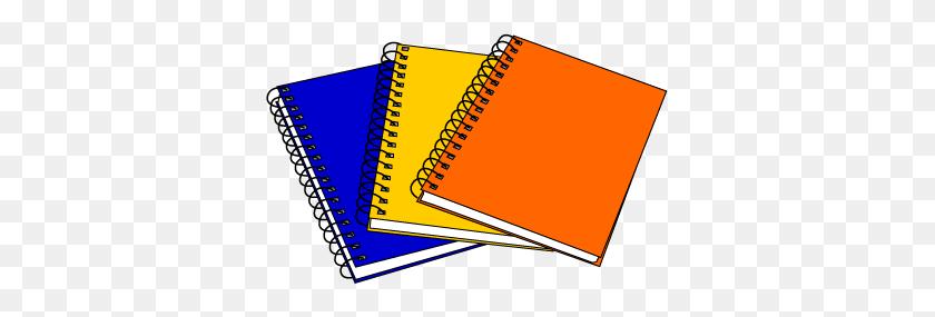 Notebook Clip Art - Pencil Writing Clipart