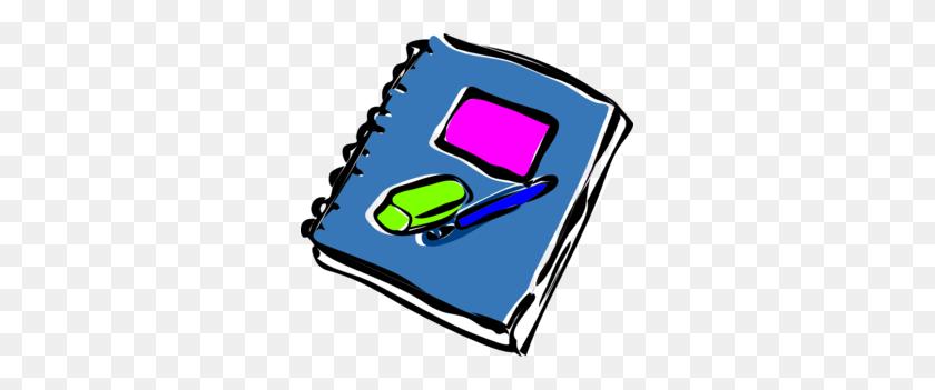 Notepad Clip Art - Pen Clipart PNG
